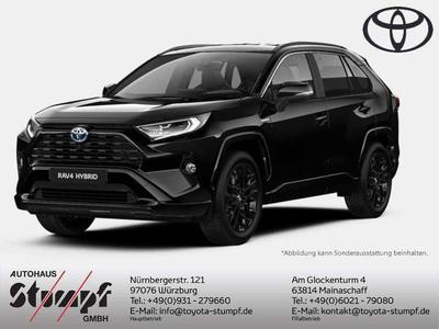 Toyota RAV 4 RAV4 2.5 Hybrid 4x4 Black Edition | Navi+360°