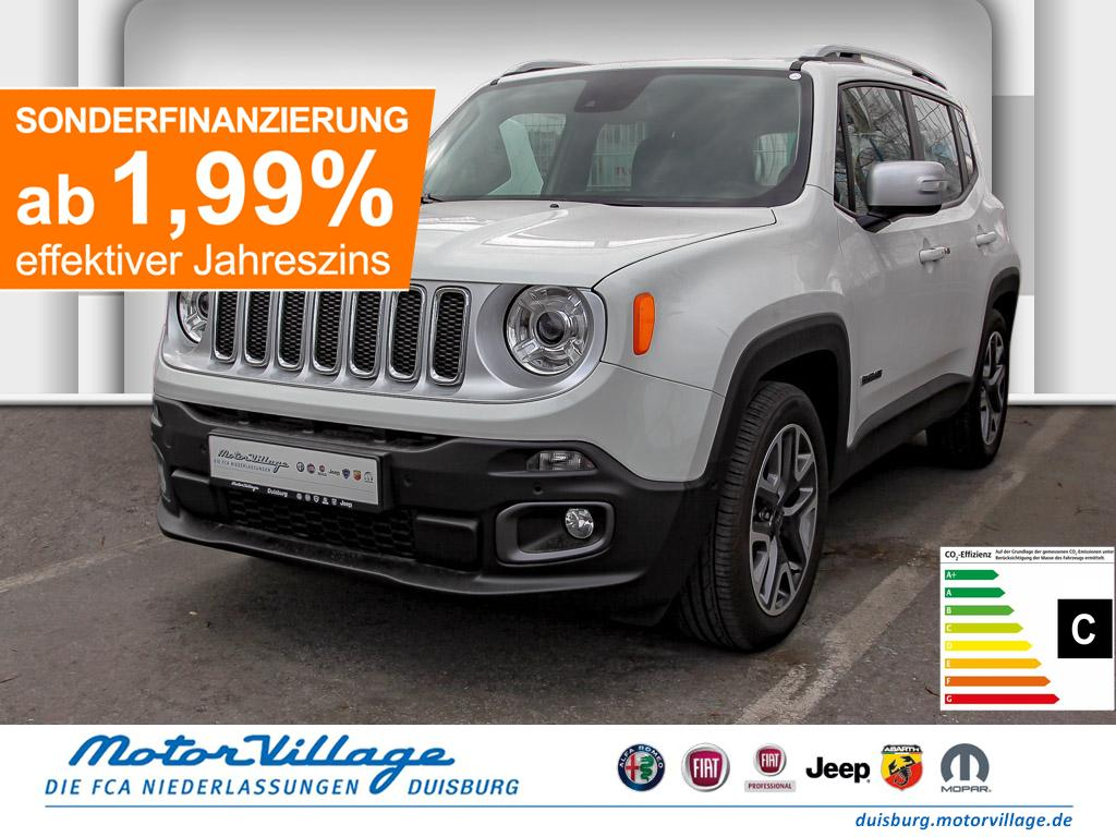 Jeep Renegade MY18 Limited 1.4l MultiAir Launch Navi